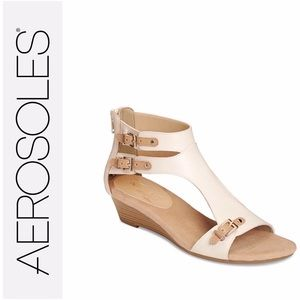 Aerosoles Heelrest Wedge Gladiator Sandals